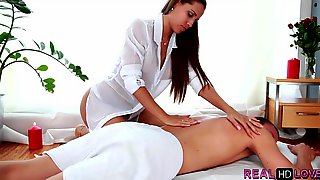 Nice Cock Massage From Amateur