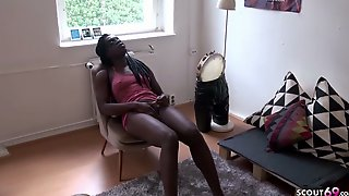 GERMAN TOURIST FUCK EBONY TEEN STREET HOOKER ON HOLIDAY