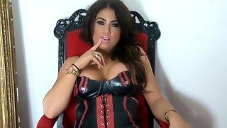 Boot Slave For Charming Mistress Pov