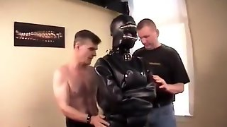 Zoie In Heavy Rubber Straitjacket