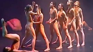 Nude Contemporary Dance