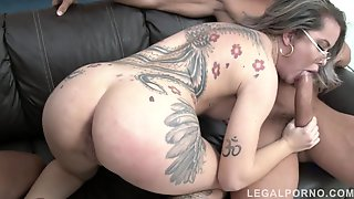Tattooed Slut DP Hardcore