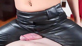 Thightfucking Leather Ass