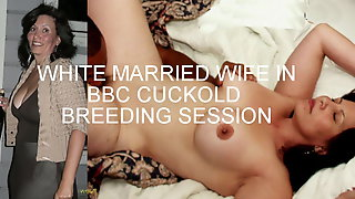 ... Amateur White Couple - BBC Cuckold Breeding Session