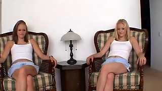 Twin sisters the miltons cherish & cali give a pov blowjob!