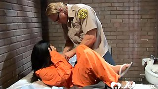 Hot In Prison Is Shafted Without Mercy