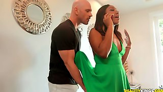 Ebony Curvy MILF Chanell Heart Pounded Hard By A White Guy