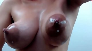 Aedanjustine Milking Her Russian Dolls Tits And Showing Her Ass And Clit