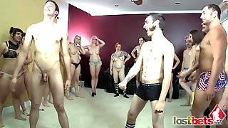 Lost Bets Procreation Game -Group Fucking Lovemaking