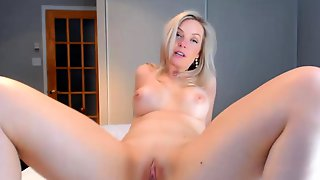 Blonde Swedish Teen Masturbate Chubby Milf