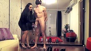 CFNM Cum On Mistress Shoes