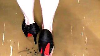 Cock Trample Shoejob
