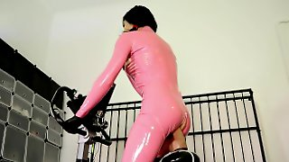 Ultimate Sissy Rubber Doll Workout