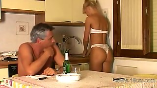 Vintage Pussy Fuck With Extra-hot Blonde Teenage Whore