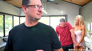 Blonde Whore Courtney Taylor Cheats On Her Husband
