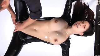 Hardcore BDSM Action With Brunette Japanese Slutty