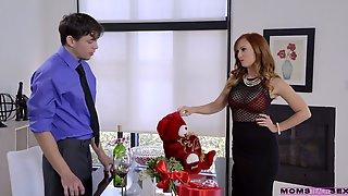 Red Haired Stepmom Dani Jensen Is Fucking Her Handsome Stepson