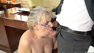 Mouth Spermed Grandmother