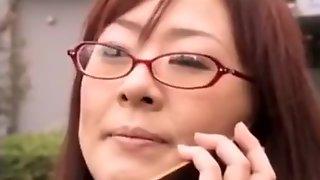 Late, Japanese spank mature something