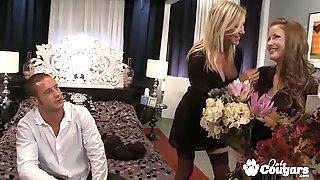 Nikki Rhodes And Allison Pierce Threesome Sex