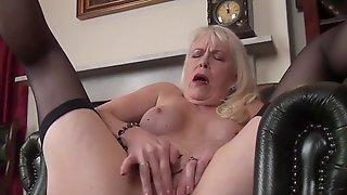 Lustful Granny Margaret Porn Video