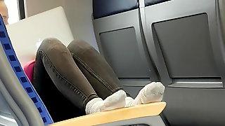 Socks On Train