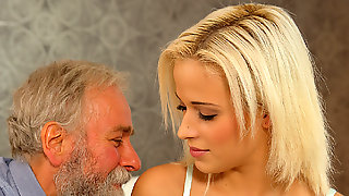 DADDY4K. Old And 18 Years Old Intimacy Experiment Is A Birthday...