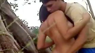 Indonesian Girl Fucked In Jungle