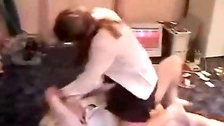 Russian Schoolgirls Catfight