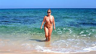 Brazilian family beach nude pic can