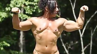 Muscle Woman Nude
