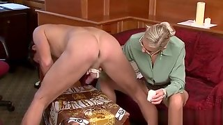 Captivating Honey Gets Her Mouth And Slit Fucked Roughly