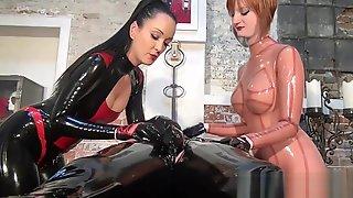 Rubber Slave Milked 1