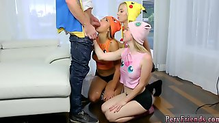 Blowjob Back Angle And Blonde Loves Anal Poke Man Go!
