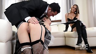 Brutal Fun With Very Hot Maids - ANALDIN