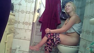 Hidden Cam Toilet Teens