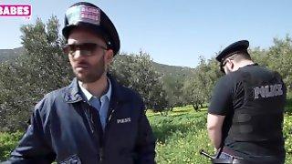 SUGARBABESTV : Fake Cops Greek Parody