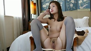 Sweety Chinese Nude Model Hanna With Sexy Pantyhose
