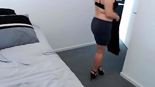 Sweet Pierced Pussy Of Sassy Mother