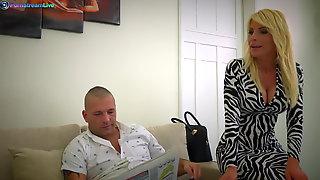 Stunning MILF Tiffany Rousso Fucking Her Husband S Friend