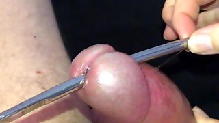 The BEST Handjob On Pornhub - Squirting CUM Out Of Piercing Hole!!