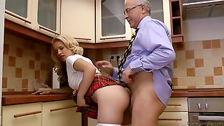 Getting Kinky In The Kitchen - FUCK MOVIE