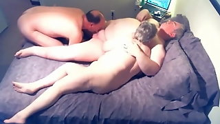 Old Ugly Chubby Sex With Chester & Hester & Charlie