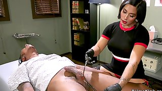 Asian Doctor Anal Fucks Black Dudei N Office