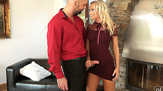 Larry Steel & Victoria Pure In Set The Mood - NubileFilms
