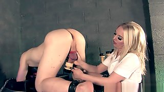 Prostate Milking Done By The Nurse