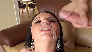 Lindsay Kay Attacked By Three Lovers For A Gangbang Session