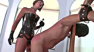 Tied Balls Gets His Ass Dominated