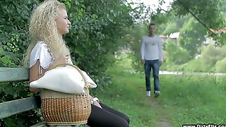 Torrid Picnic Gal Angel Diamonds Wanna Ride Strong Cock Outdoors Today
