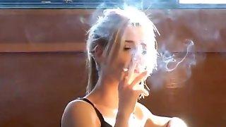 Bianca Smoking
